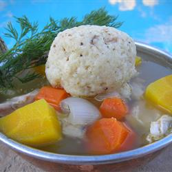 Chicken Soup with Matzo Balls, Jewish